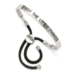 ENJOY THE LITTLE THINGS Adjustable Bracelet